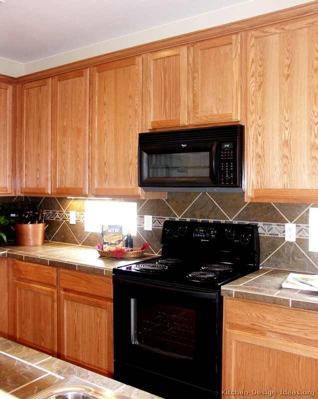oak cabinets on pinterest stain kitchen cabinets glazed kitchen