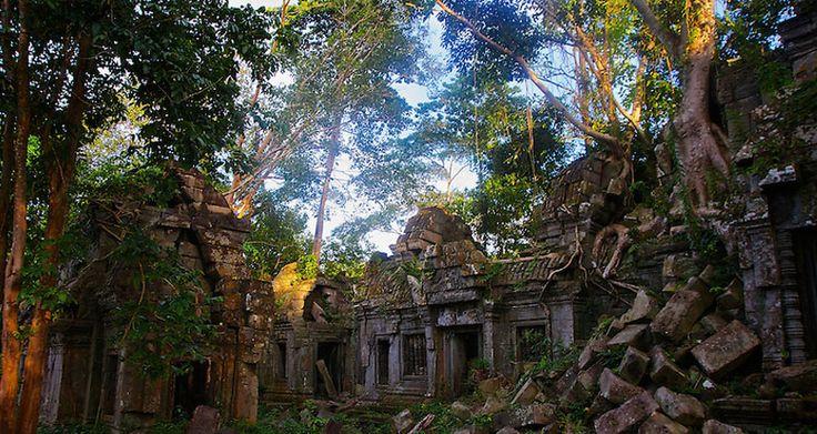 Cidade perdida há 1200 anos é encontrada em florestas do Camboja  –   História sem Fim