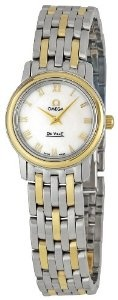Omega Women's 4370.71 DeVille Mother Of Pearl Dial Watch  $3,545.00
