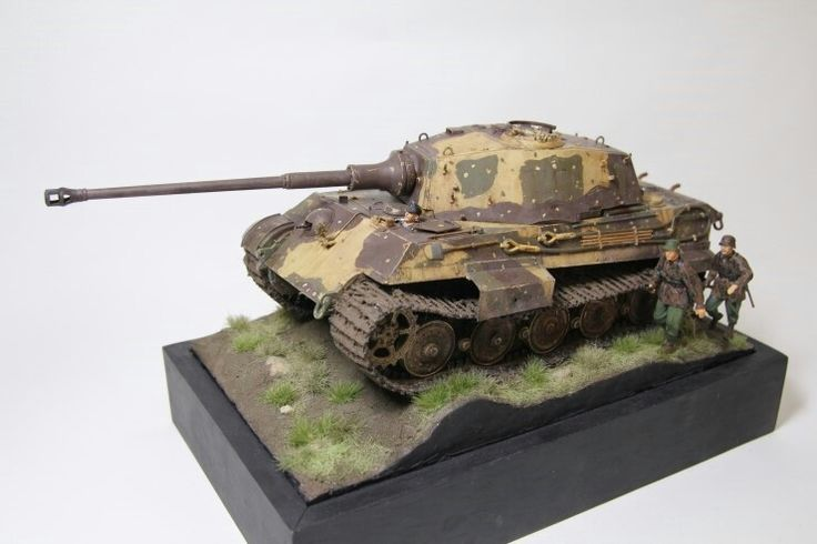 1/35 Kingtiger  Academy MM Made by Lee Juho