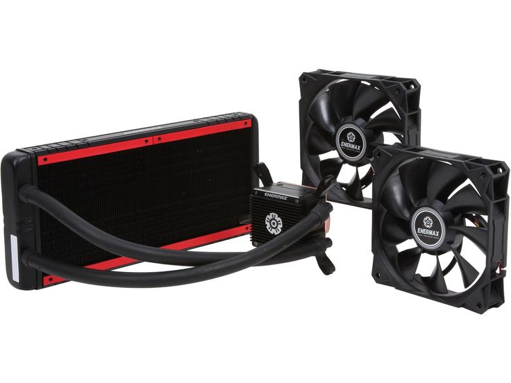 Enermax Liqtech 240 All-in-One Liquid Cooler 27MM Thick Radiator w/ Duo High Pressure Airflow Fans #enermax #computerhardware