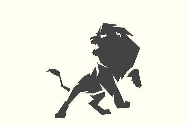 Angry Lion - Logos