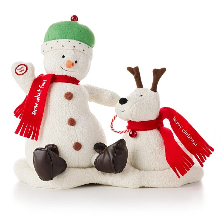 Jingle Pals Interactive Snowman Large Hallmark 2014
