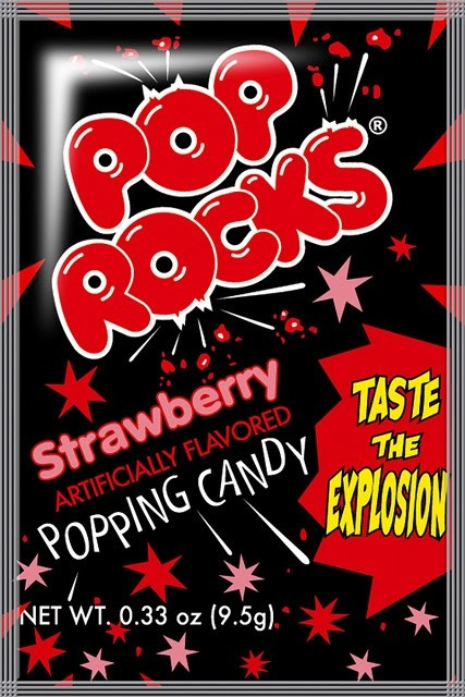 Pop Rocks Strawberry - 1980's Candy at Hometown Favorites Retro and Nostalgic Candy - Hometown Favorites