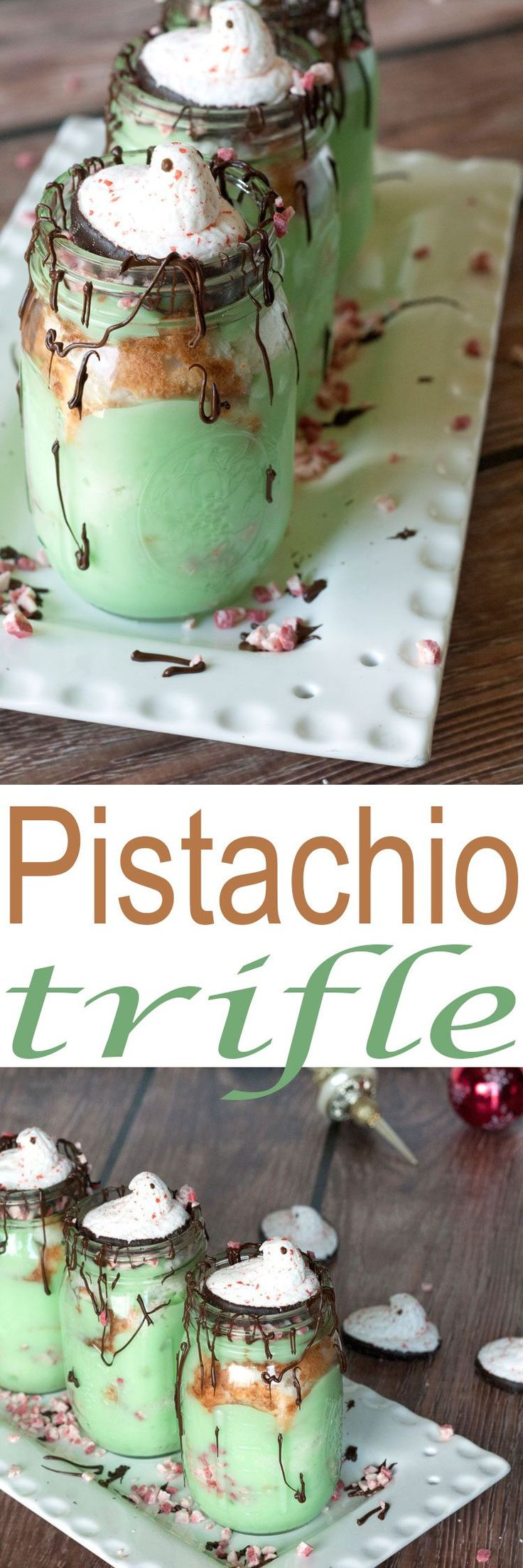 Best Holiday Trifle recipe. Our Pistachio Trifle is an easy dessert recipe and absolutely delicious! It is fun to make and a beautiful dessert.