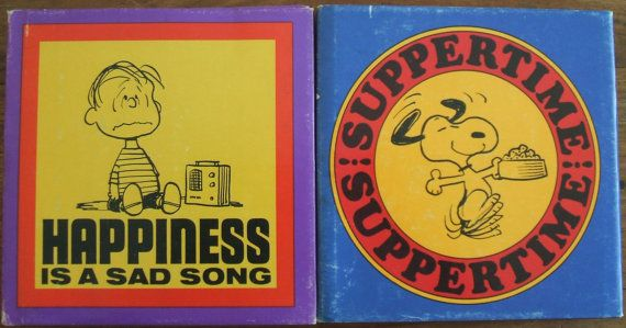 Lot of Two Vintage Books Snoopy Charles M. by LilysVintageJewelry