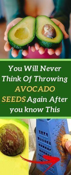 Why you should never throw away avocado seeds? #health #benefits #avocado #seeds #healthyfood