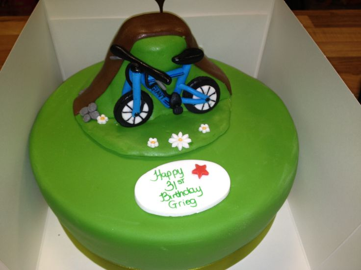 Bike Decoration For Cake : Mountain bike cake topper 24 and 20 Inch Girls Mountain ...