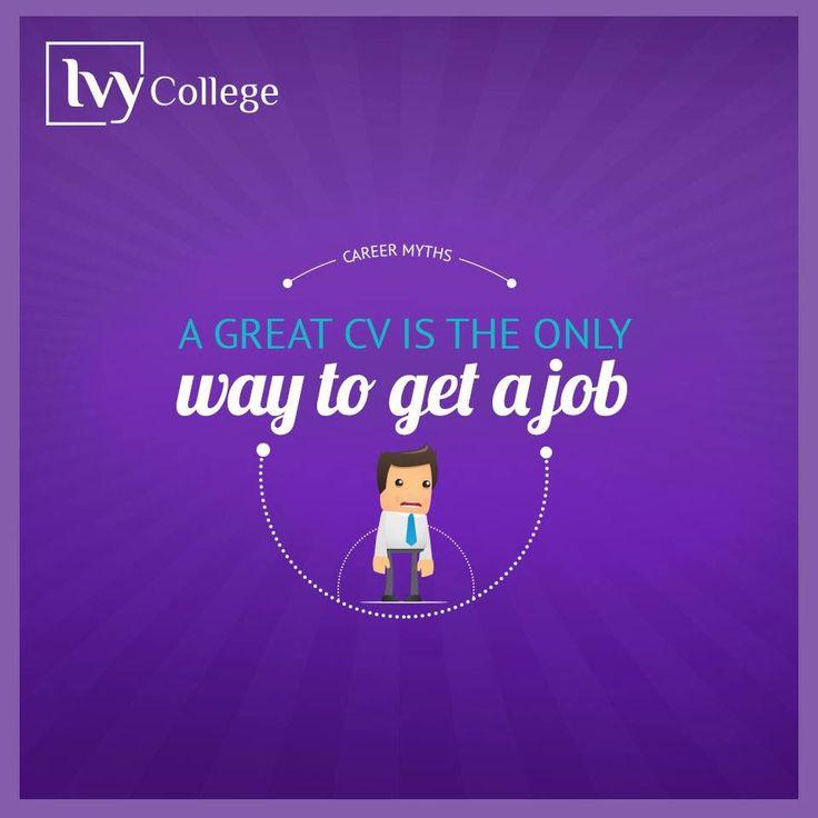 Career myths. Designed by Slidemaster.