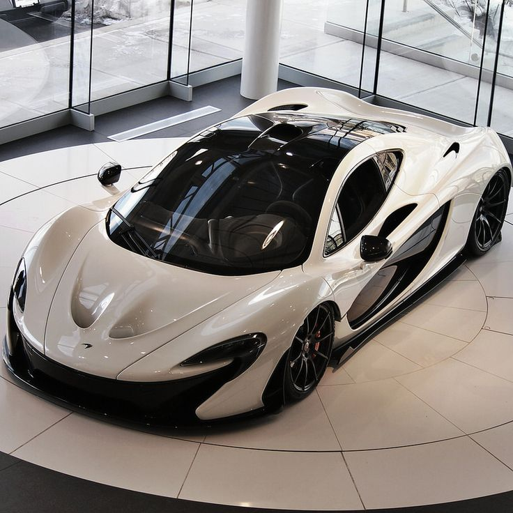 McLaren P1 ¶ Beautiful at this angle. Much nicer than the 918 or that hideous monstrosity that they call The Ferrari The Ferrari.
