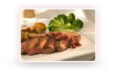 Low Calorie Recipes | Diet Recipes | High Protein Recipes | Slim-Fast. Top sirloin with shallot reduction