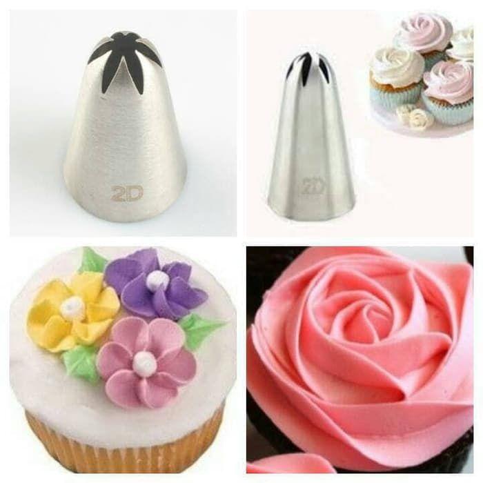 Alat Dekorasi Cake Spuit Bintang No 2d Bintang Dekorasi Pembuatan Perhiasan