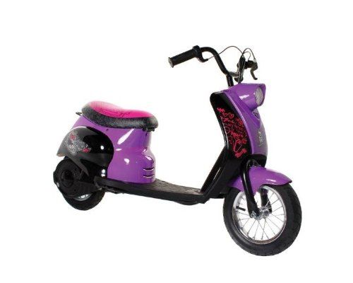 Monster High City Scooter, Black/Purple/Pink
