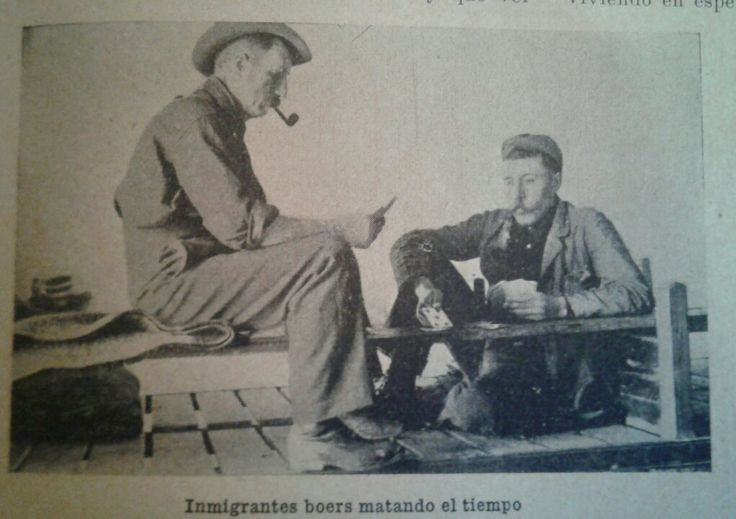 Boer migrants. 1906