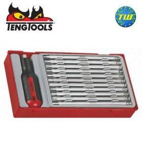 Teng 12pc Interchangeable Screwdriver Set TTMD12D - Tool Control System