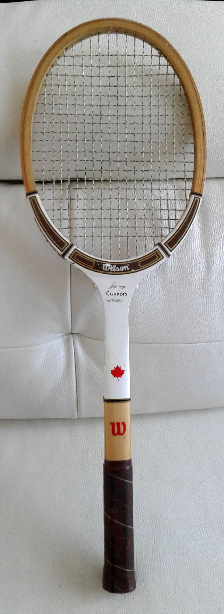 Vintage 1970'S Jimmy Connors Wilson Tennis Racquet Made in canada from Simpson's Sears by TreasuresMemories on Etsy