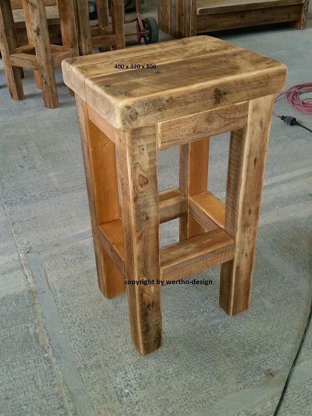 bildergebnis f r holzhocker selber bauen bauen pinterest rustikale m bel selber bauen und. Black Bedroom Furniture Sets. Home Design Ideas