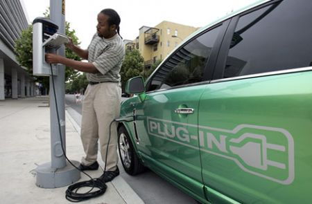 electric charging station | Posted by Michele Gallo at 11:26 AM
