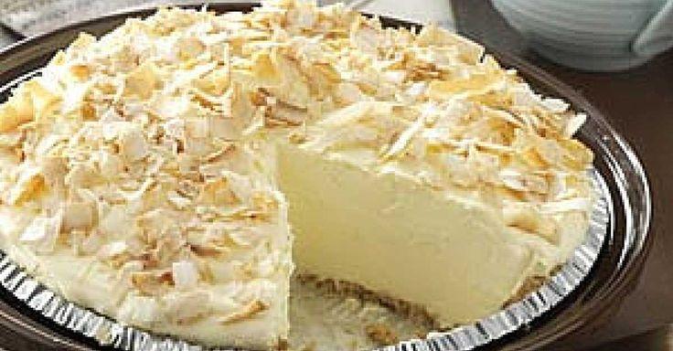 Recept na nepečený kokosový dort