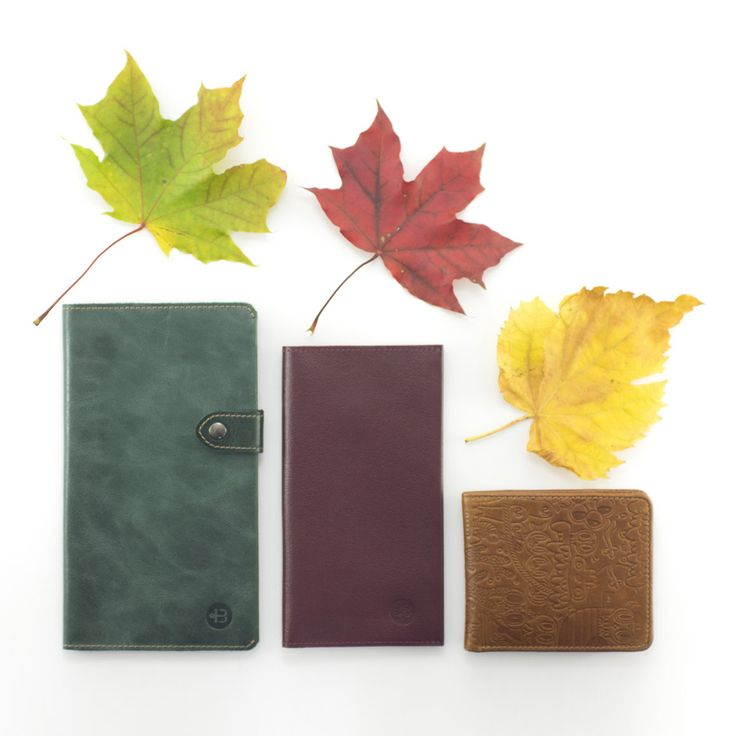 Leather wallets. Handmade wallets. Handcrafted wallets. True leather. Genuine leather. Travel wallet. Long wallet. Bifold wallet. Autumn. Inspiration