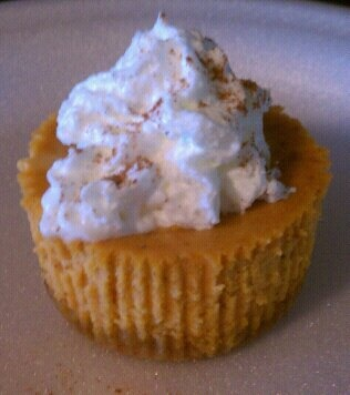 Pumpkin Swirl Cheesecake Yogurt Cupcakes Recipes — Dishmaps