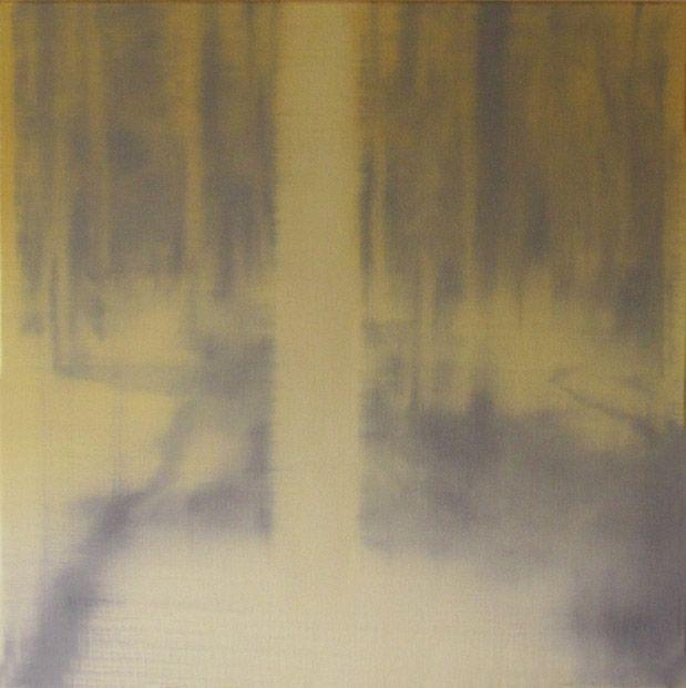 Bos, 18-9-2015, 60x60 cm Christiaan Kuitwaard, Realisme Beurs, 99 Uitgevers