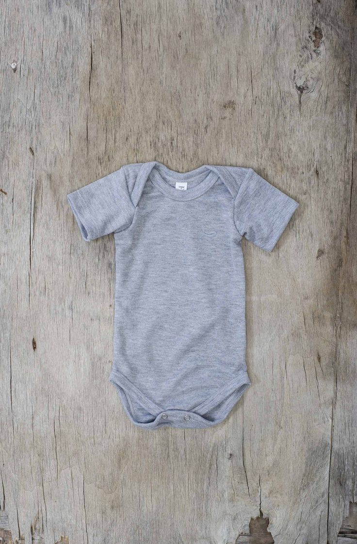 Fable Babywear Vest Collection - Grey Vest with Grey Feather Embroidery. Made with 100% cotton.  Browse our collections at http://fablebabywear.com/
