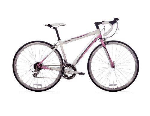 """Giordano Libero 1.6 Women's Road Bike Bicycle 41cm - 16 Speed with 17"""" Frame White/pink Bike - World of Cycling - The Internet Bicycle Store..."""