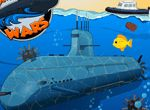 Submarinul este o nava capabila sa navigheze sub apa. Submarinele civile au de obicei dimensiuni mai mici decat cele militare, deoarece acestea trebuie sa maximizeze spatiul. Zonele preferate de turistii subacvatici sunt acelea din zona tropicelor sau cele cu apa limpede ce ofera o buna vizibilitate. Acestea au de obicei o capacitate de 25 sau 50 de persoane, si pot face si peste 10 scufundari in aceeasi zi.