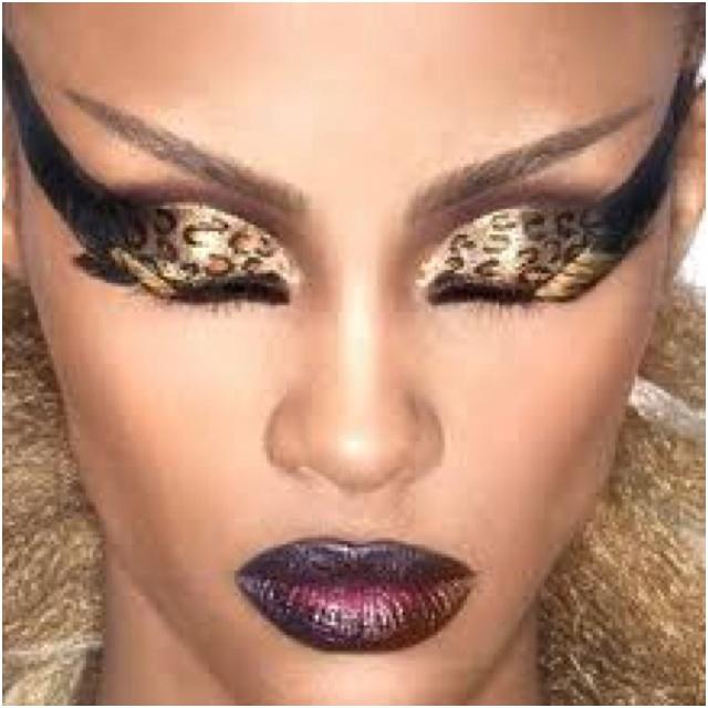 Wild makeupEye Makeup, Cat Eye, Dramatic Eye, Makeup Ideas, Makeup Looks, Leopards Prints, Eyeshadows, Eyemakeup, Cheetahs Prints