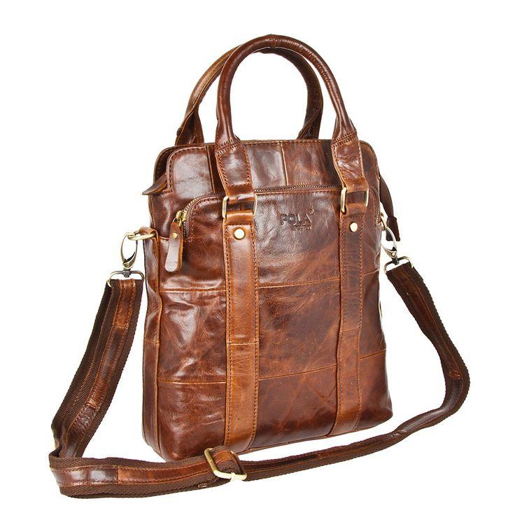 Мужская кожаная сумка 0308к для мужчин за 8 000 pуб., купить мужские сумки средние в интернет-магазине Polashop.ru