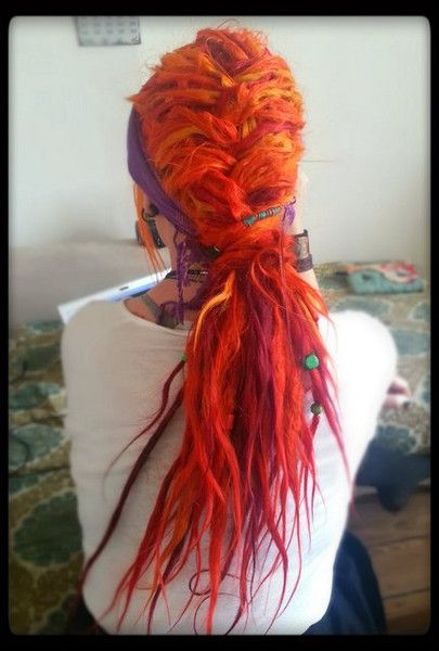 Read about svala's dreadlock journey. She shares her story behind her dreadlocks on our site: http://dreadstuff.com/pages/dreadlocks-journey-swallowthesun-svala  #dreadhead #dreadlocks #dreads #dreadlockjourney #red dreadlocks #red dreads