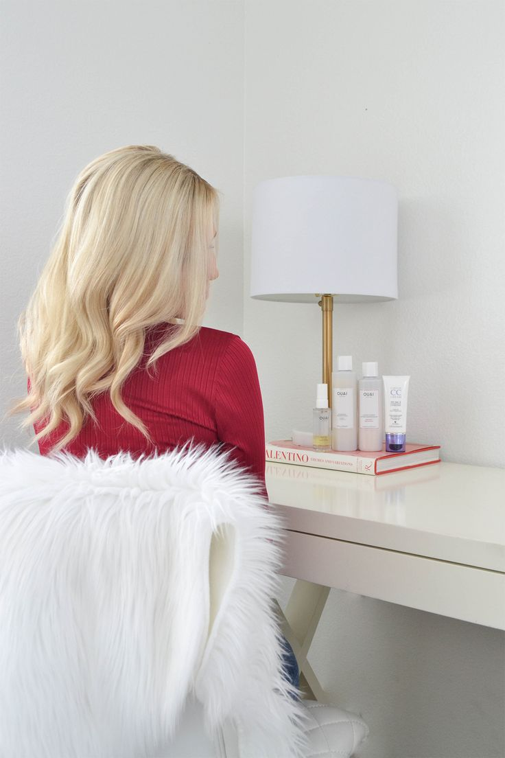 healthy blonde hair, healthy hair tips, hair care for blondes, ouai products