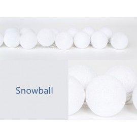 Happy Lights Snowball Lyskæde