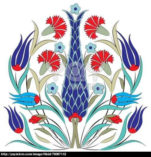oriental ottoman design seven