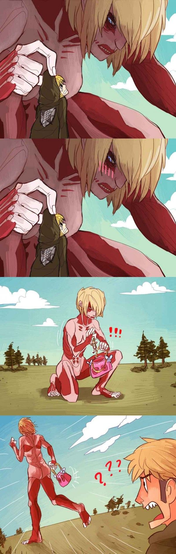 What If Annie Actually Took Armin