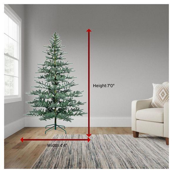 7ft Unlit Full Artificial Balsam Fir Christmas Tree Wondershop Target Balsam Fir Christmas Tree Christmas Tree Slim Artificial Christmas Trees