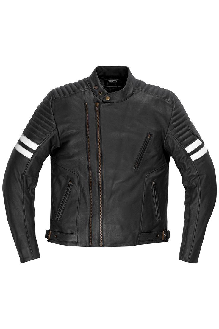 DIFI MERCURY Motorradjacke Leder Retro