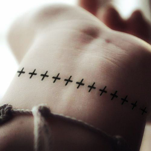 Tattoo Quotes With Cross: 1000+ Ideas About Cross Anchor Tattoos On Pinterest