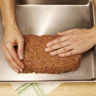 How to Cook a Healthy Meatloaf-- steps with pictures