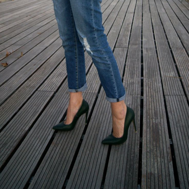 Chic green pumps! #followSANTE #SanteBloggersSpot #shopSANTE