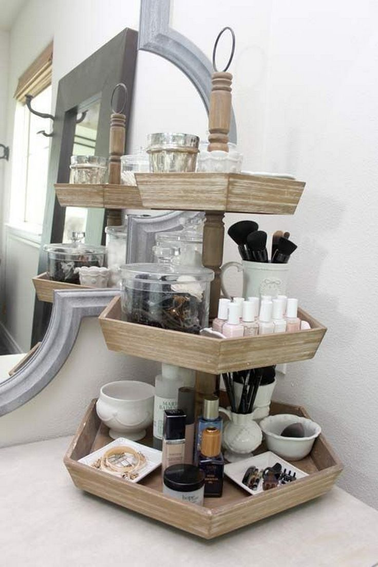 21 simple makeup organizer ideas for proper storage alladecor.com / ...