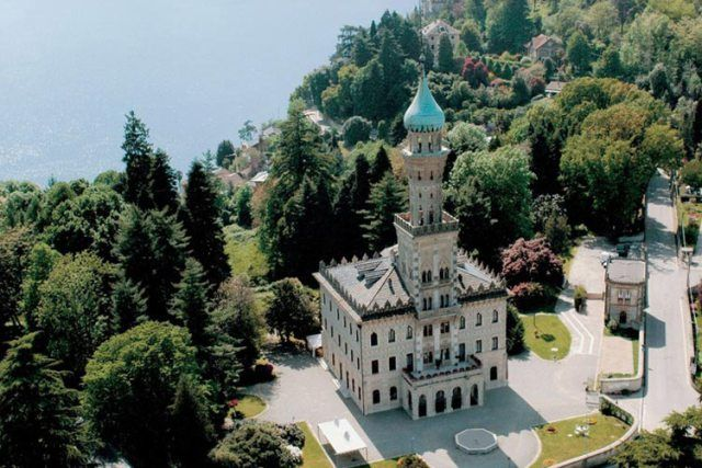 Villa Crespi, Orta San Giulio, Novara, Piedmont, ITALY #hotellove #destinationany #anywheretraveler