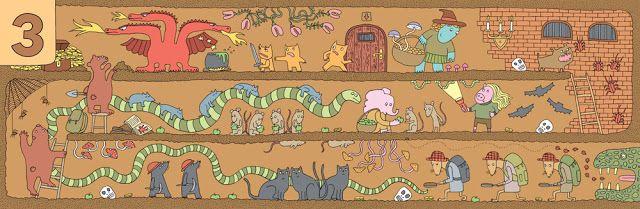 polska ilustracja dla dzieci: Zapowiedź - Mam oko na liczby / Mam oko na litery
