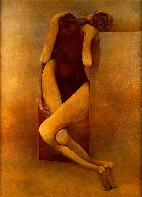Beksinski, Zdzislaw (1929-2005) - Unknown (Private Collection) by RasMarley, via Flickr