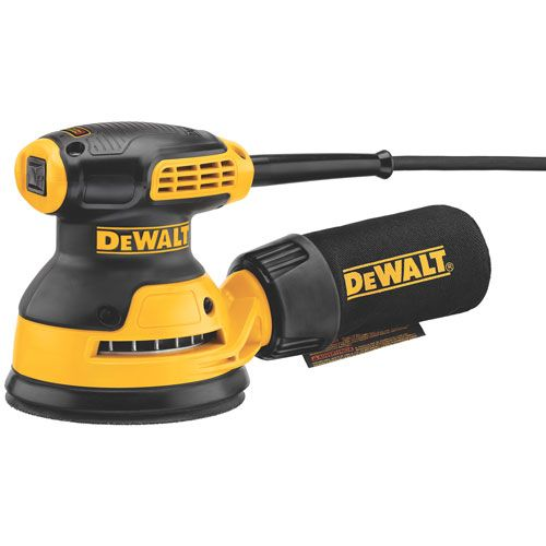 "DWE6420 5"" Random Orbit Sander / Single Speed / PSA pad 