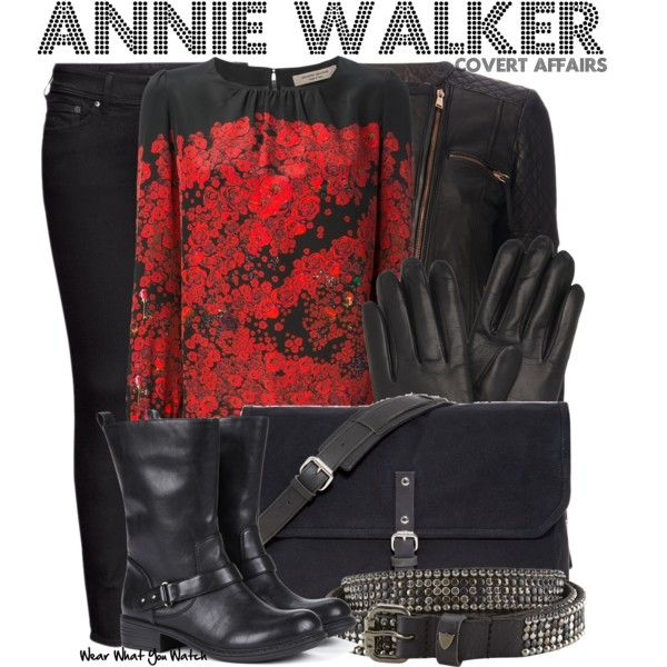Inspired by Piper Perabo as Annie Walker on Covert Affairs. Everyone needs a little spy style in their life!  #CovertAffairsSweepsEntry #CovertAffairs