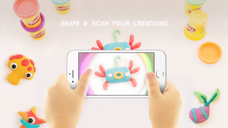 Play-Doh TOUCH App | See Your Play-Doh Creations Virtually!