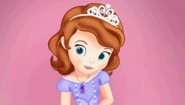 Sofia nv princesa latina da Disney - branquinha, olhos azuis, cabelos castanhos trailer