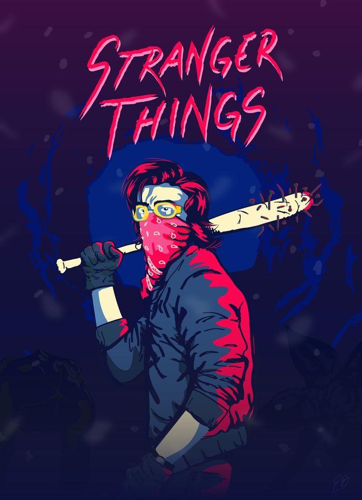 Steve Stranger Things 2 Steve Stranger Things 2 Https Wallpaperpinterest Com Stranger Things Poster Stranger Things Steve Stranger Things Fanart